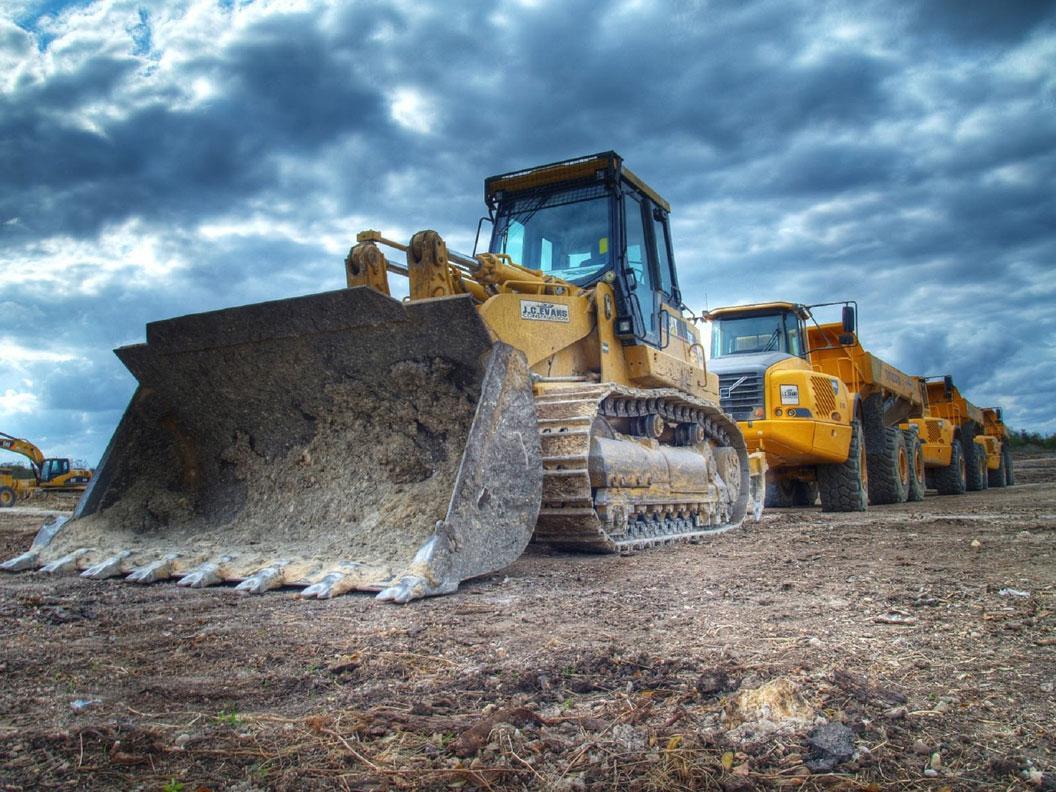 Camiones de minería  Foto: Alex Banner