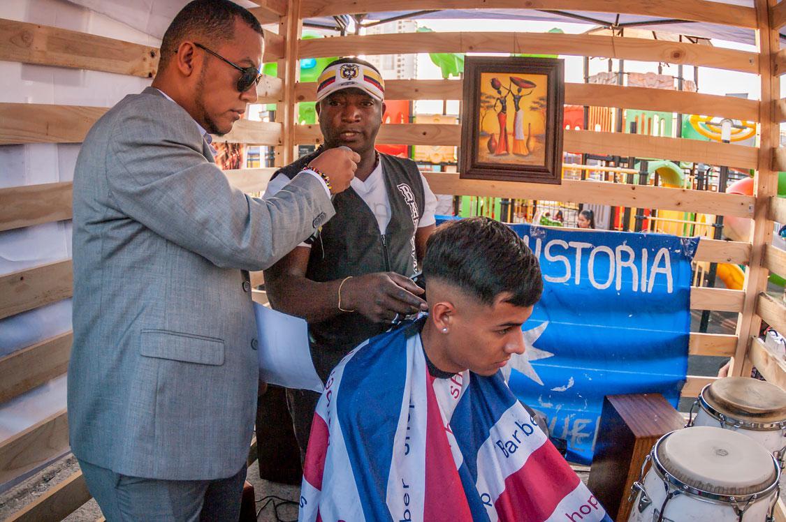 Barbería Afrodecendientes de tarapacá