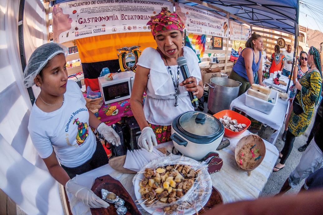 Gastronomía Afrodecendientes de Tarapacá